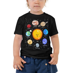 Kawaii Solar System 2T-5T Toddler T-Shirt
