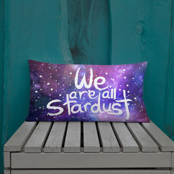 We are all Stardust Premium Pillow - Krokoneil