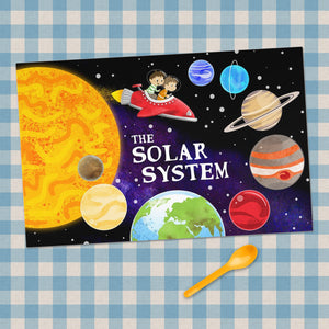 The Solar System Placemat
