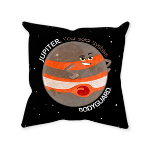 Jupiter the Bodyguard Throw Pillow