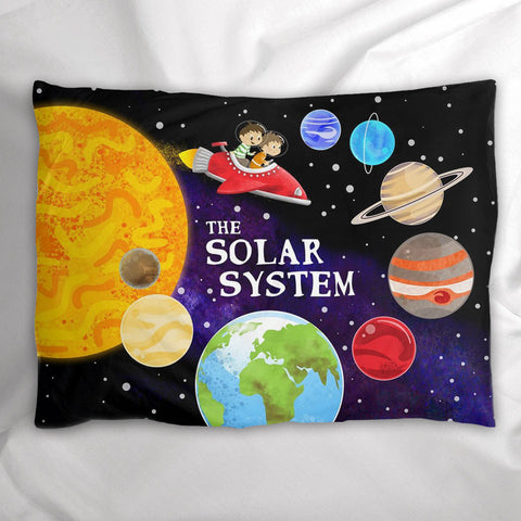 The Solar System Pillow Sham