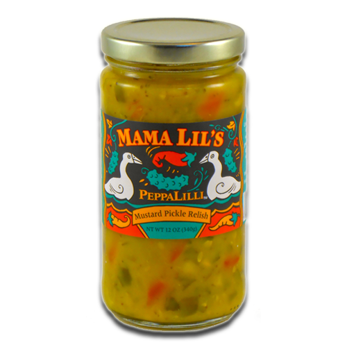 Mama Lil's PeppaLilli Mustard Pickle Relish (Original) - 12oz. 6-pack