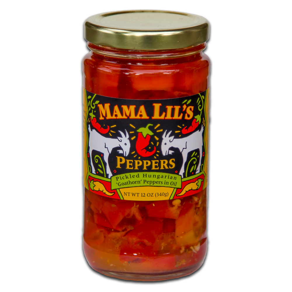 Mama Lil's Pickled Peppers and Fine Condiments  - Gourmet, Sweet, Hot and Mildly Spicy Pickled Peppers, Bread and Butter Pickle and Pepper Relish, Peppa Lilli Mustard, Pickled Asparagus and Green Beans For Sale Online.  Product of the USA - Retail and Wholesale - Domestic and International Shipping Available