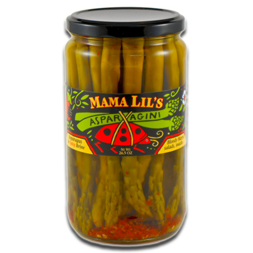 Mama Lil's Pickled Asparagini - 26.5oz. 6-pack