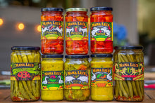 Load image into Gallery viewer, Mama Lil's Pickled Peppers and Fine Condiments  - Gourmet, Sweet, Hot and Mildly Spicy Pickled Peppers, Bread and Butter Pickle and Pepper Relish, Peppa Lilli Mustard, Pickled Asparagus and Green Beans For Sale Online.  Product of the USA - Retail and Wholesale - Domestic and International Shipping Available