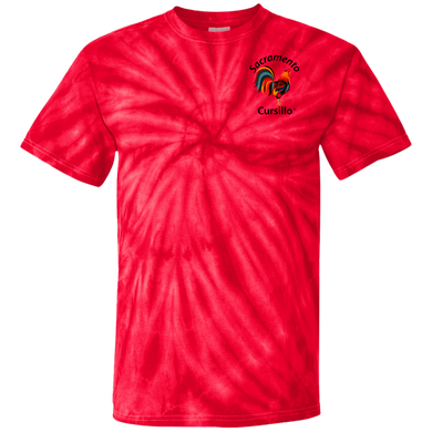 Sacramento Cursillo 100% Cotton Tie Dye T-Shirt