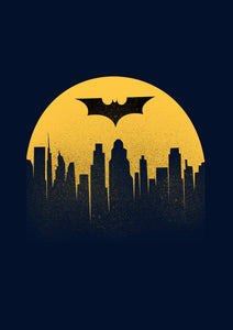 """ BATMAN BEGINS"" HALF-SLEEVE T-SHIRT - antherr"