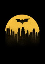 "Load image into Gallery viewer, "" BATMAN BEGINS"" HALF-SLEEVE T-SHIRT - antherr"