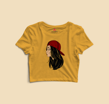 "Load image into Gallery viewer, "" CHIN UP GIRLS "" - HALF-SLEEVE T-SHIRTS - antherr"
