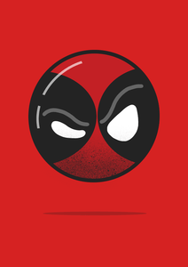 """ DEADPOOL ""- HALF-SLEEVE T-SHIRT - ANTHERR"
