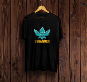 """ DEMOGORGAN "" -STRANGER THINGS HALF-SLEEVE T-SHIRT (BLACK) - antherr"