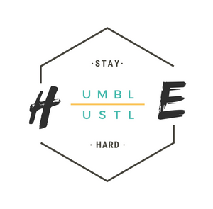 STAY HUMBLE, HUSTLE HARD -  HALF-SLEEVE T-SHIRTS
