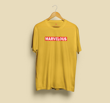 Load image into Gallery viewer, MARVELOUS HALF-SLEEVE T-SHIRT (YELLOW) - antherr