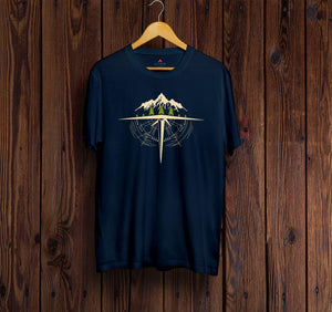 """ OVER HORIZON ""  - HALF-SLEEVE T-SHIRTS - antherr"
