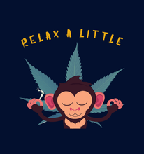"Load image into Gallery viewer, ""RELAX A LITTLE""- UNISEX HALF SLEEVE T-SHIRTS.. - ANTHERR"