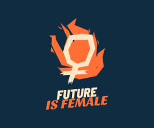 FUTURE IS FEMALE - 3/4TH SLEEVE T-SHIRT DRESSES - ANTHERR
