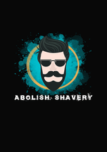 Load image into Gallery viewer, ABOLISH SHAVERY HALF SLEEVE T-SHIRT (BLACK) - antherr