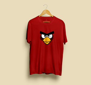 """ ANGRY BIRD"" HALF SLEEVE T-SHIRT - ANTHERR"
