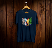 "Load image into Gallery viewer, "" AVENGERS SQUAD "" - HALF-SLEEVE T-SHIRTS - ANTHERR"