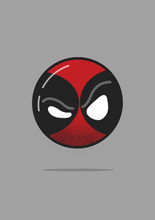 "Load image into Gallery viewer, ""Deadpool"" Half Sleeve T-Shirts - antherr"