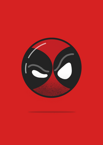 """Deadpool"" Half Sleeve T-Shirts - antherr"