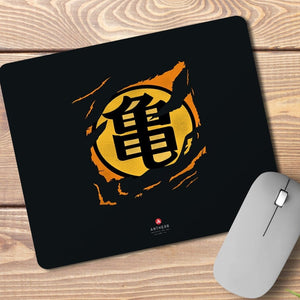 Dragon Ball Z Muten Roshi Turtle Symbol Anti Skid Mouse Pad - ANTHERR