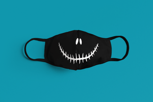 Devil Smile: Printed Tetra Shield Protection Mask - ANTHERR