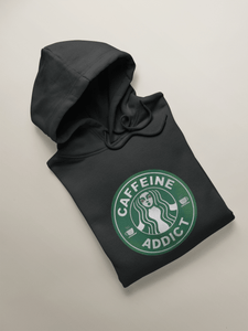 """CAFFEINE ADDICT "" - WINTER HOODIES - ANTHERR"
