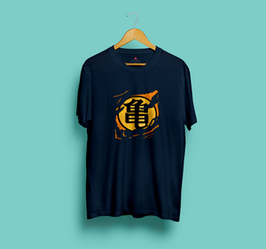 """Dragon Ball Z Muten Roshi Turtle Symbol"" HALF-SLEEVE T-SHIRT - antherr"