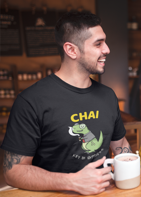 CHAI - KEY OF HAPPINESS : HALF-SLEEVE T-SHIRTS