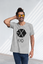Load image into Gallery viewer, EXO LOGO  - HALF-SLEEVE T-SHIRTS