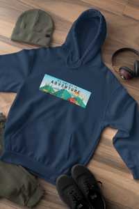 """ ITS TIME FOR AN ADVENTURE "" - WINTER HOODIES - ANTHERR"