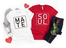 Load image into Gallery viewer, Soul Mate - Half Sleeve Couple T shirts
