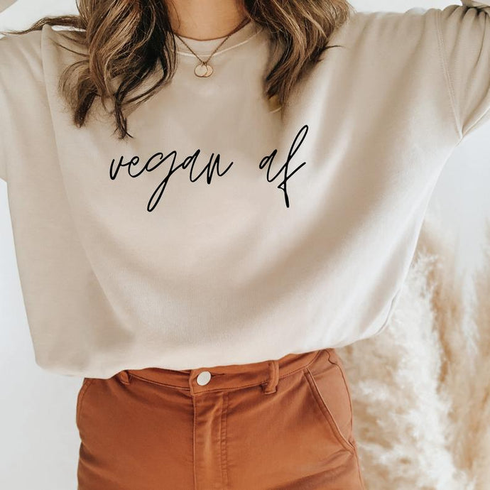 Vegan AF - MINIMAL : Winter Sweatshirts