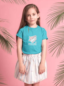 """UNICORN"" KIDS HALF-SLEEVE T-SHIRTS - ANTHERR"
