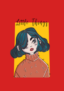 """LITTLE THINGS"" HALF-SLEEVE T-SHIRTS"