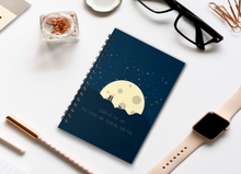 Load image into Gallery viewer, LOOK AT THE SKY THE STARS ARE SHINING FOR YOU SPIRAL NOTEBOOK - antherr