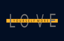 "Load image into Gallery viewer, ""LOVE YOURSELF MORE"" - HALF SLEEVE CROP TOP'S"