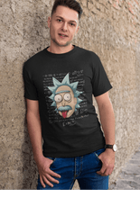 Load image into Gallery viewer, E = MC2 - RICK AND MORTY: HALF-SLEEVE T-SHIRTS - ANTHERR