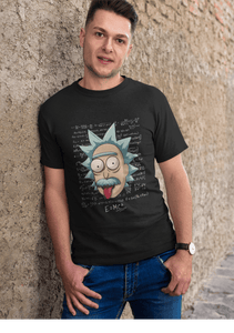 E = MC2 - RICK AND MORTY: HALF-SLEEVE T-SHIRTS - ANTHERR