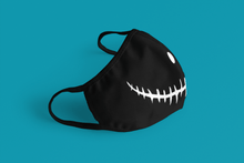 Load image into Gallery viewer, Devil Smile: Printed Tetra Shield Protection Mask - ANTHERR