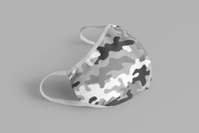 Load image into Gallery viewer, Grey Camouflage : Printed Tetra Shield Protection Mask ( PACK OF 3 ) - ANTHERR