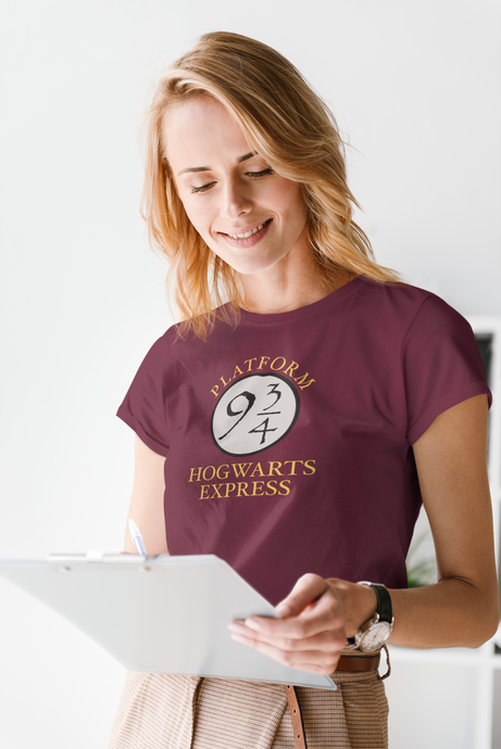 HOGWARTS EXPRESS : HARRY POTTER - HALF-SLEEVE T-SHIRTS