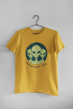 Load image into Gallery viewer, HUMANS AREN'T REAL : ALIEN & SPACE- HALF-SLEEVE T-SHIRTS