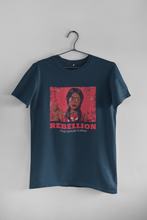 "Load image into Gallery viewer, "" REBELLION "" - HALF-SLEEVE T-SHIRT' - ANTHERR"