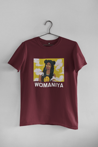 """ WOMANIYA "" - HALF-SLEEVE T-SHIRT - ANTHERR"