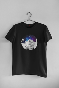 """ SMOKEY GALAXY "" HALF-SLEEVE T-SHIRTS - ANTHERR"