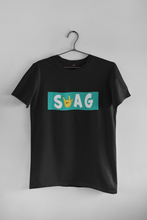 "Load image into Gallery viewer, ""SWAG""- HALF-SLEEVE T-SHIRT'S - ANTHERR"