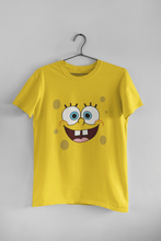 Load image into Gallery viewer, SpongeBob: HALF SLEEVE T-SHIRT - ANTHERR