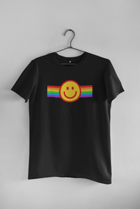 PRIDE SMILEY HALF-SLEEVE T-SHIRT. - ANTHERR